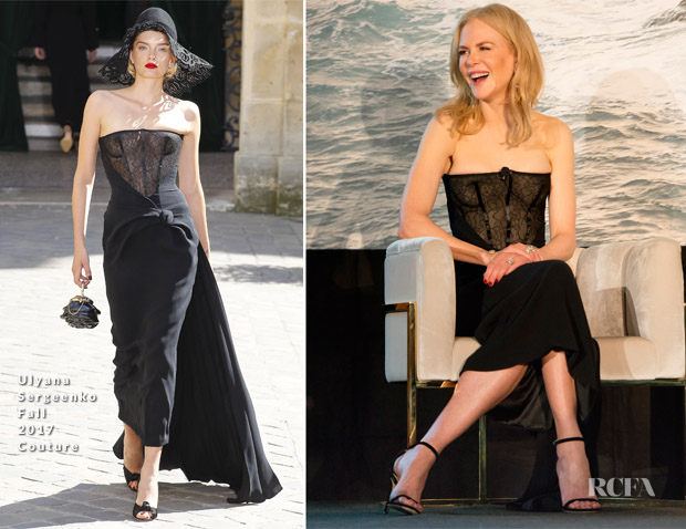 Nicole Kidman In Ulyana Sergeenko Couture - Big Little Night