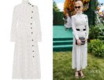 Nicole Kidman's Alessandra Rich Pleated Polka-Dot Dress