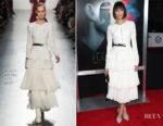 Nina Dobrev In Prabal Gurung - 'Flatliners' LA Premiere