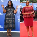 Octavia Spencer In Tadashi Shoji - 'The Shape Of Water' Venice Film Festival Photocall & Premiere