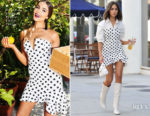 Olivia Culpo In Olivia Culpo x PrettyLittle Thing - Out In LA