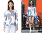 Olivia Munn's Wildfox Lucky Stars Phantom Sweater