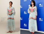 Penelope Cruz In Temperley London - 'Loving Pablo' Venice Film Festival Photocall