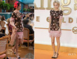 Poppy Delevingne In Chanel - 'Kingsman: The Golden Circle' London Premiere