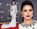 Priyanka Chopra In Balmain - 2017 Emmy Awards