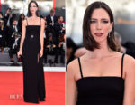 Rebecca Hall In Prada - 'Suburbicon' Venice Film Festival Premiere