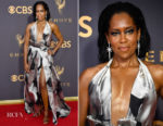 Regina King In Galia Lahav Couture - 2017 Emmy Awards