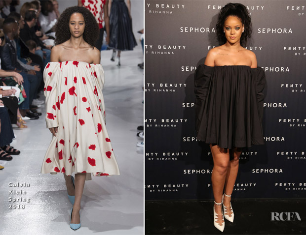 Rihanna In Calvin Klein 205W39NYC - Sephora Hosts 'Fenty Beauty By Rihanna'