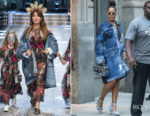 Rihanna In Dolce & Gabbana - Out In New York City