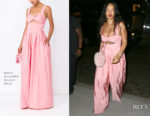 Rihanna In Rosie Assoulin - Out In New York