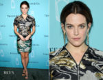 Riley Keough In Louis Vuitton - Tiffany & Co. Fragrance Launch Event