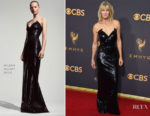 Robin Wright In Mugler - 2017 Emmy Awards