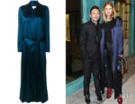 Rosie Huntington-Whiteley's Galvan Signature Trench Coat