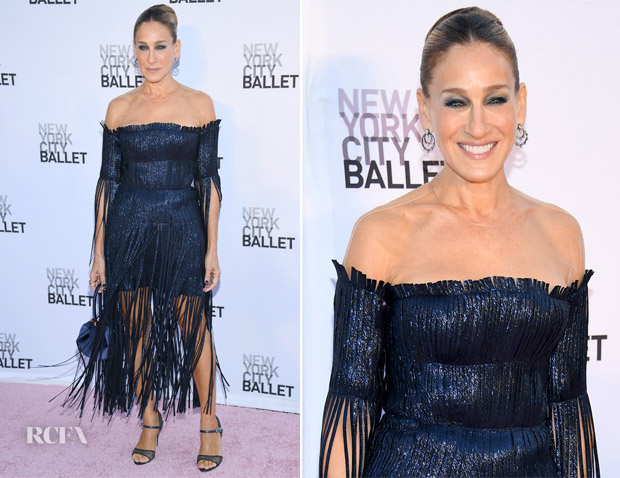 Sarah Jessica Parker In Monse - New York City Ballet's ...