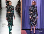Sarah Paulson In Prabal Gurung - The Tonight Show Starring Jimmy Fallon