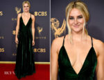 Shailene Woodley In Ralph Lauren Collection - 2017 Emmy Awards