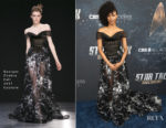 Sonequa Martin-Green In Georges Chakra Couture - Star Trek: Discovery Premiere