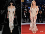 Soo Joo Park In Iris van Herpen Couture - 'Three Billboards Outside Ebbing, Missouri' Venice Film Festival