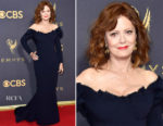 Susan Sarandon In Zac Posen - 2017 Emmy Awards