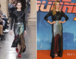 Sylvia Hoeks In Christopher Kane - 'Blade Runner 2049' London Photocall