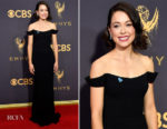 Tatiana Maslany In Reem Acra - 2017 Emmy Awards
