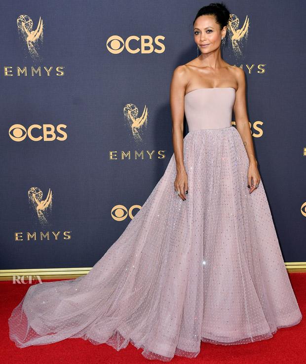 Thandie Newton In Jason Wu - 2017 Emmy Awards - Red Carpet Fashion ...