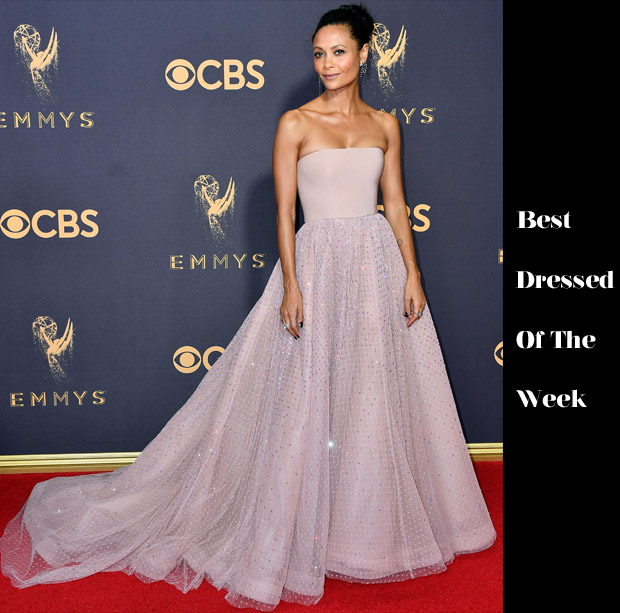 Best Dressed Of The Week - Thandie Newton in Jason Wu, Caleb McLaughlin in Garçon Couture & Noah Schnapp in Balmain