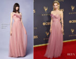 Vanessa Kirby In Marchesa - 2017 Emmy Awards