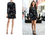 Victoria Justice's Rebecca Minkoff Steffy A-Line Mini Dress