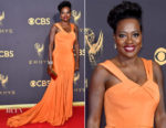 Viola Davis In Zac Posen - 2017 Emmy Awards