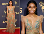 Yara Shahidi In Prada - 2017 Emmy Awards