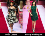 Dolce & Gabbana Spring 2018 Red Carpet Wish List