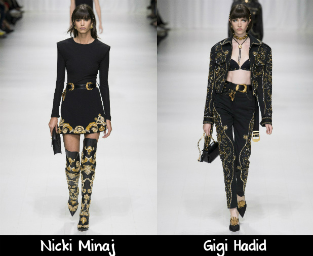 Versace Spring 2018 Red Carpet Wish List