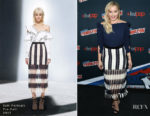 Abbie Cornish In Designer Remix & Self-Portrait  - Amazon Prime Video's 'Tom Clancy's Jack Ryan' Comic Con Panel