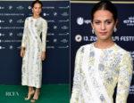Alicia Vikander In Louis Vuitton - 'Euphoria' Zurich Film Festival Premiere