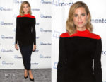 Allison Williams In Diane von Furstenberg - iMentor Champions Dinner