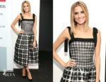 Allison Williams In Oscar de la Renta - SAG-AFTRA Foundation Conversations 'Get Out'