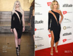 Amanda Holden In Julien Macdonald - 2017 Attitude Awards