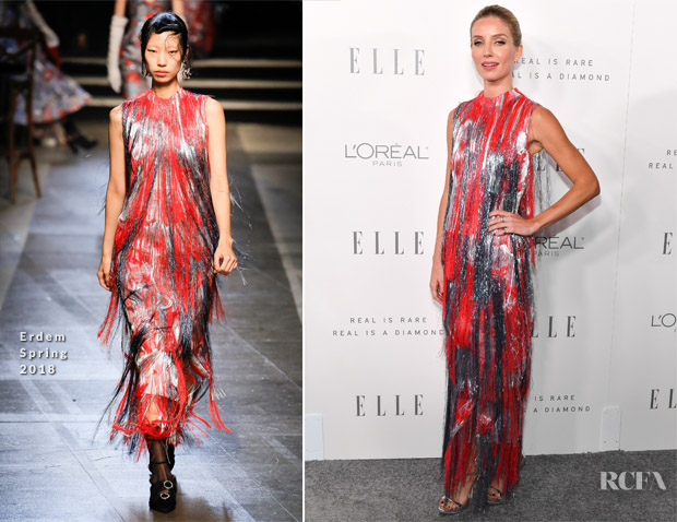 Annabelle Wallis In Erdem - ELLE's 24th Annual Women in Hollywood Celebration
