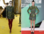 Anya Taylor-Joy In Gucci - 'Thoroughbreds' London Film Festival Premiere
