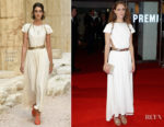 Ariane Labed In Chanel - 'Killing Of A Sacred Deer' London Film Festival Premiere