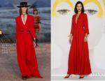 Bella Hadid In Christian Dior - 'Dior, The Art of Color' Exhibition