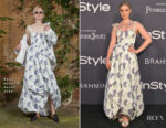 Bella Heathcote In Rosie Assoulin - 3rd Annual InStyle Awards