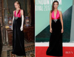 Berenice Bejo In Gucci - 'Redoubtable' London Film Festival Premiere