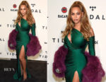 Beyonce Knowles In Walter Mendez - TIDAL X: Brooklyn Charity Concert