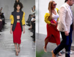 Beyonce Knowles goes colourful in Calvin Klein