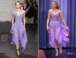 Blake Lively In Roland Mouret - The Tonight Show Starring Jimmy Fallon