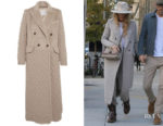 Blake Lively's Max Mara Alda Coat