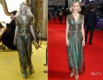 Carey Mulligan In Gucci - 'Mudbound' London Film Festival Premiere