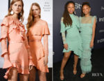 Chloe and Halle Bailey In Elie Saab - 3rd Annual InStyle Awards